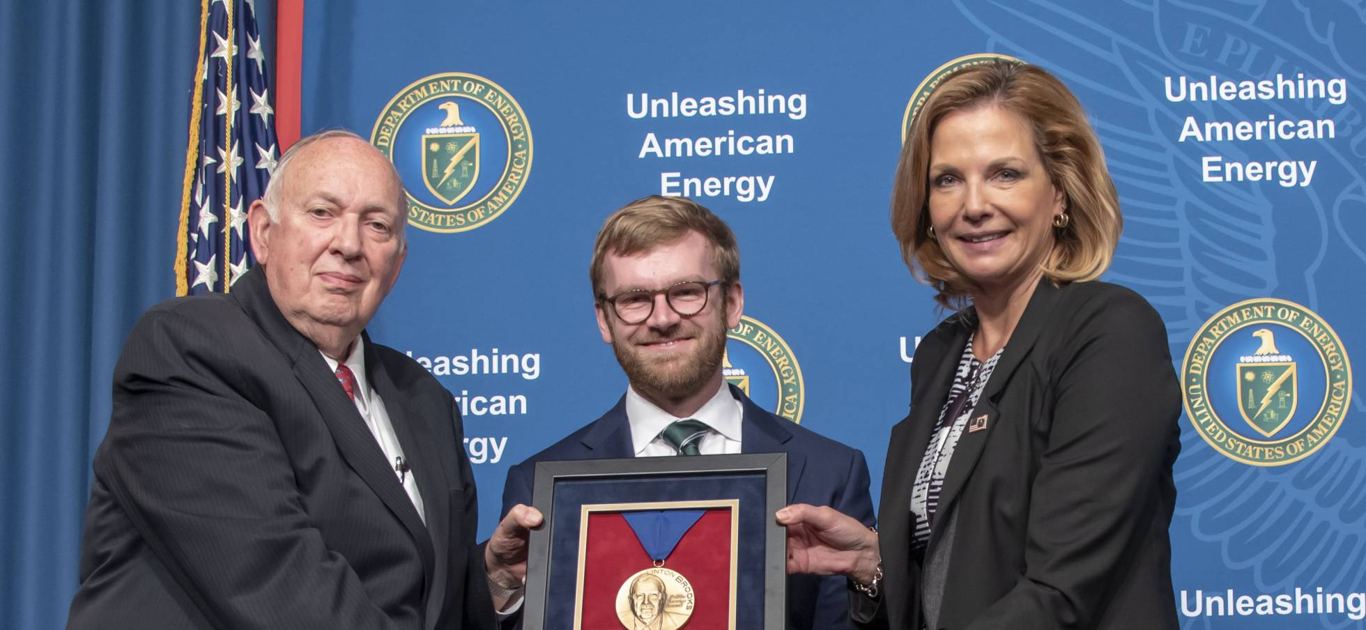 Fowler honored by National Nuclear Security Administration